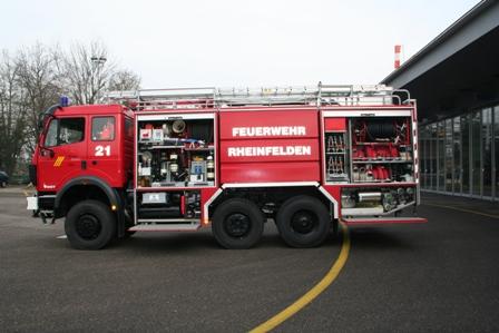 Schlussübung der Feuerwehr