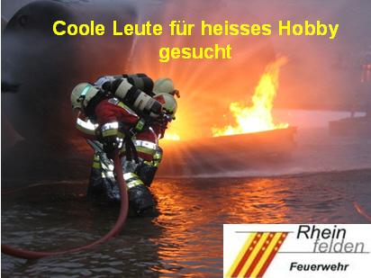 Rekrutierungsveranstaltung der Feuerwehr Rheinfelden
