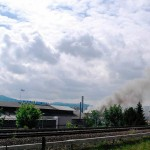 Brand in der Recyclingfirma Vogt