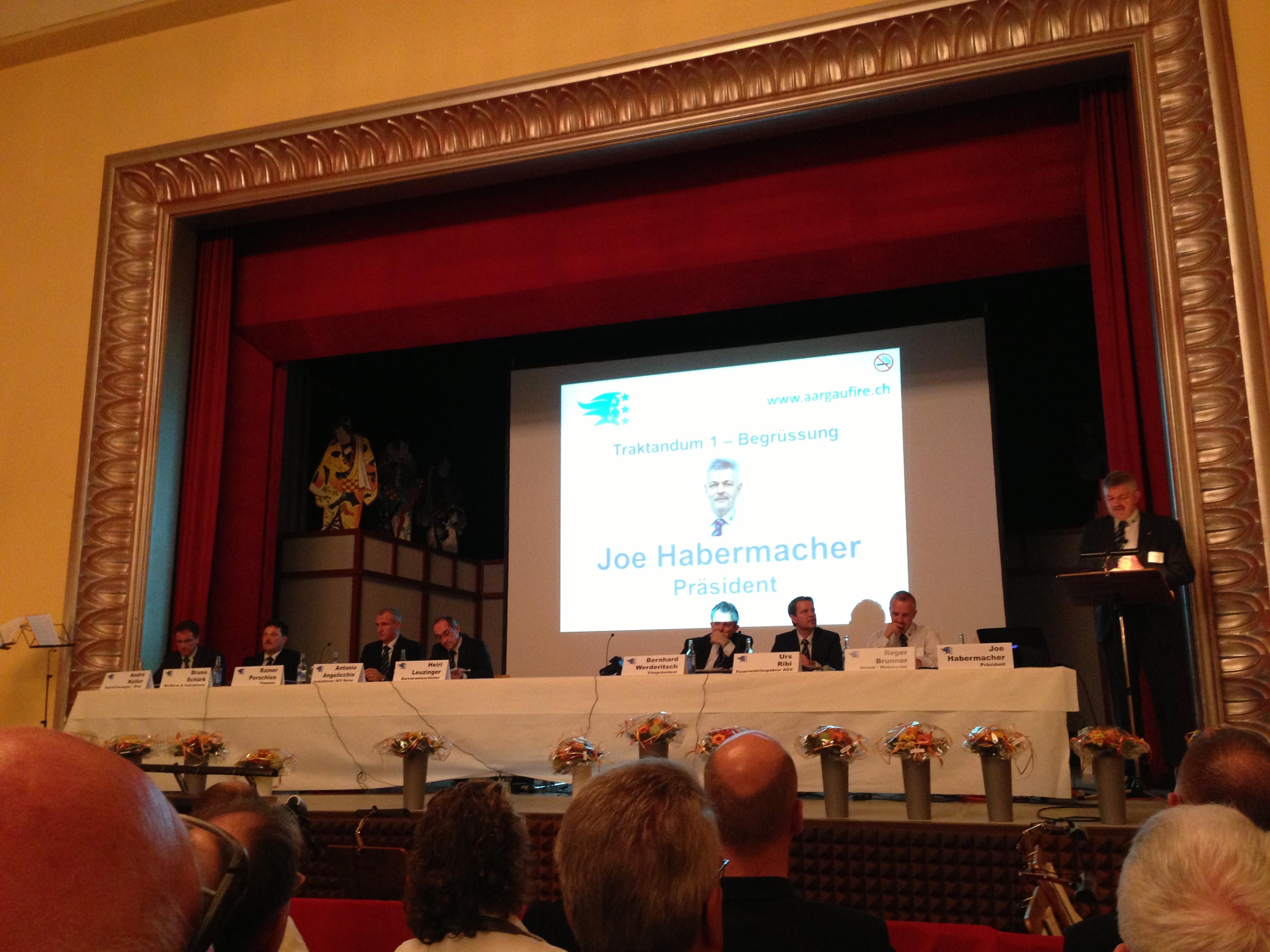 111. Delegiertenversammlung Aargauischer Feuerwehrverband