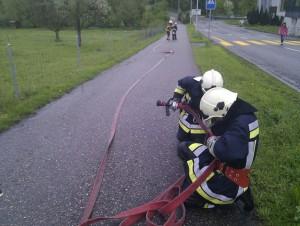 Brandbekämpfung vom 04.Mai 2013