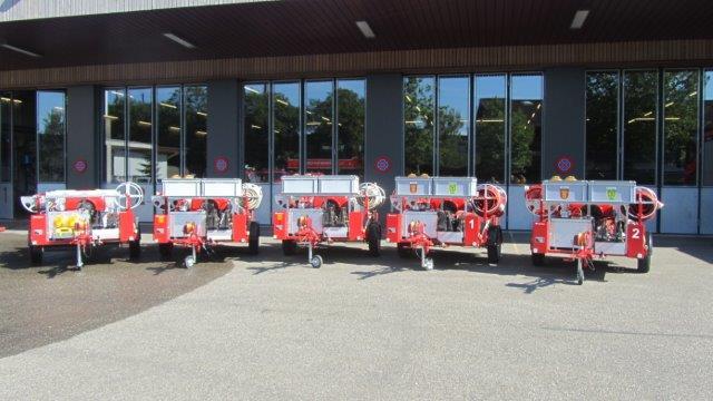 Fricktaler Feuerwehren kaufen gemeinsam neue Motorspritzen