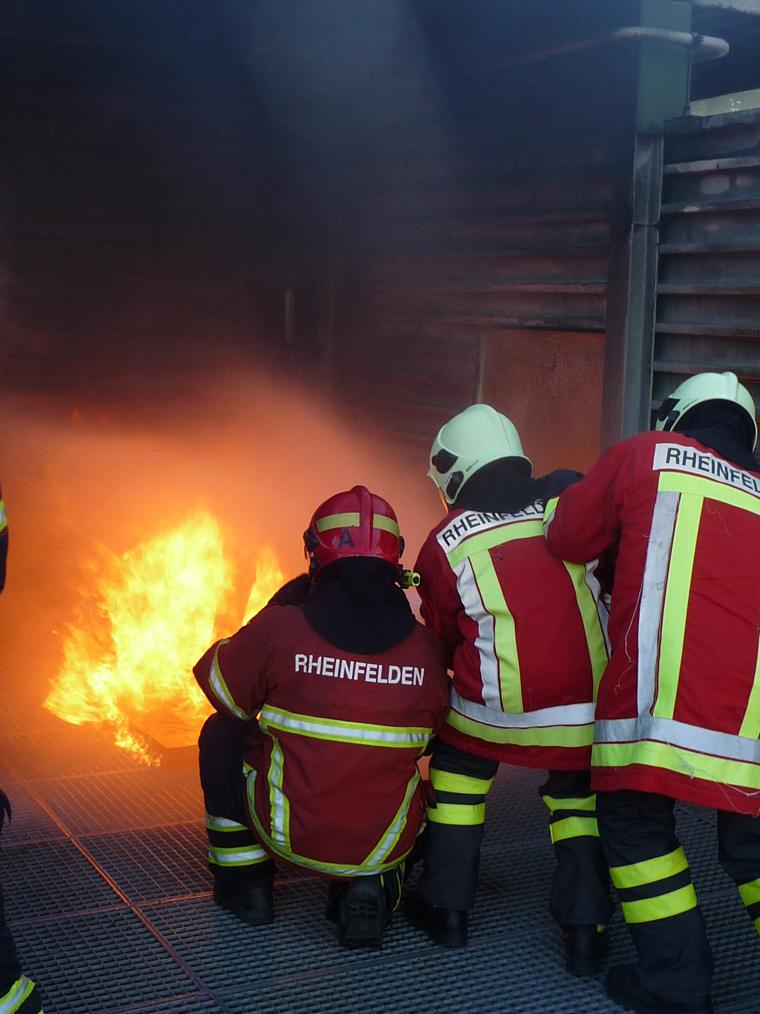 Neue Feuerwehrangehörige in Rheinfelden