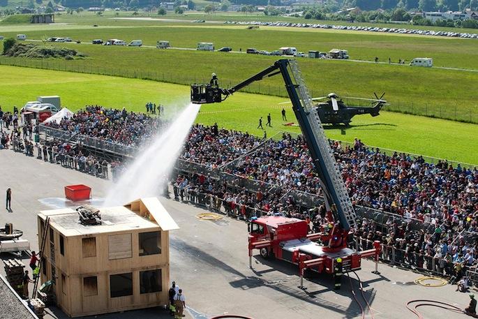 Die «Fire & Rescue Days Interlaken» finden nicht wie angekündigt bereits im Mai 2015, sondern erst ein Jahr später statt.