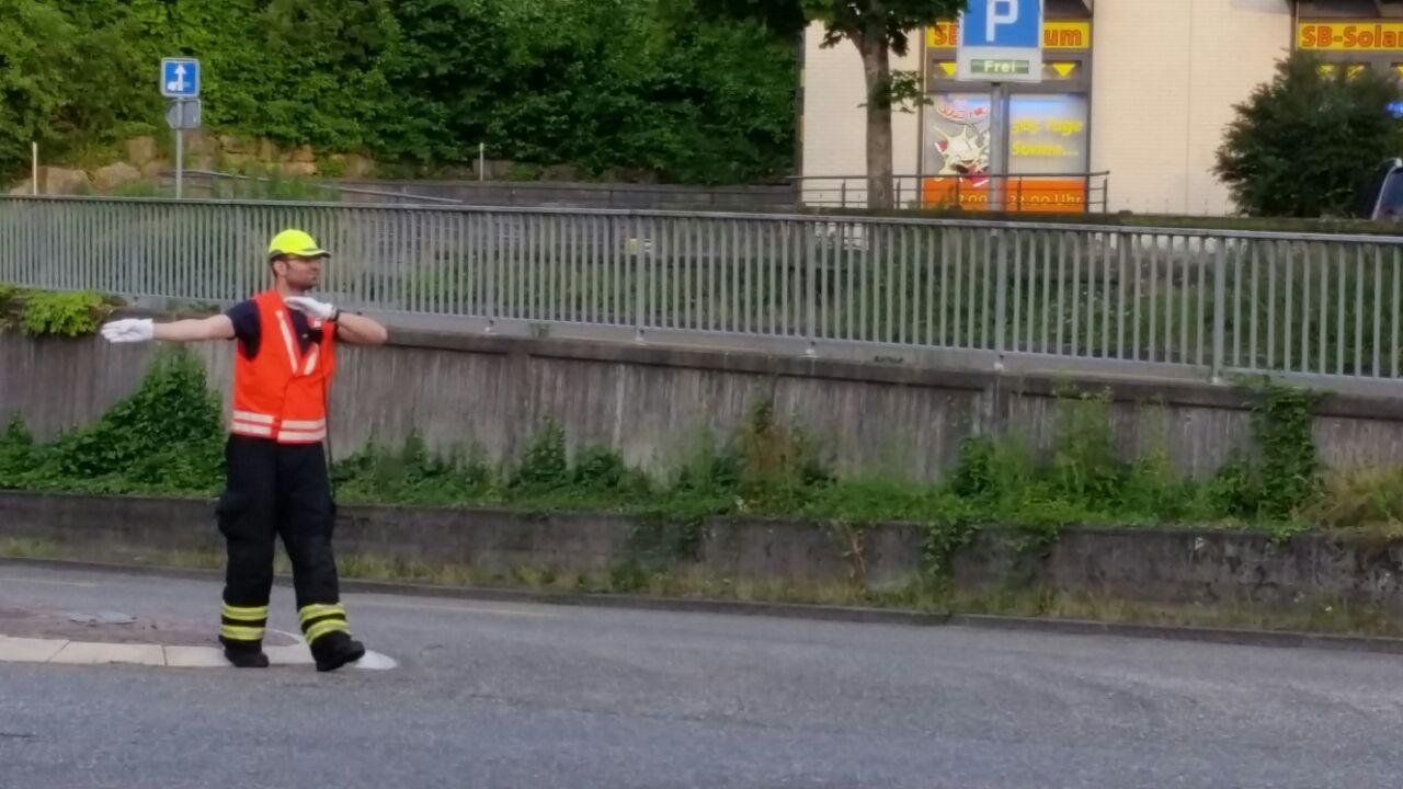 Regio Verkehrsregelungsübung - Ochsen