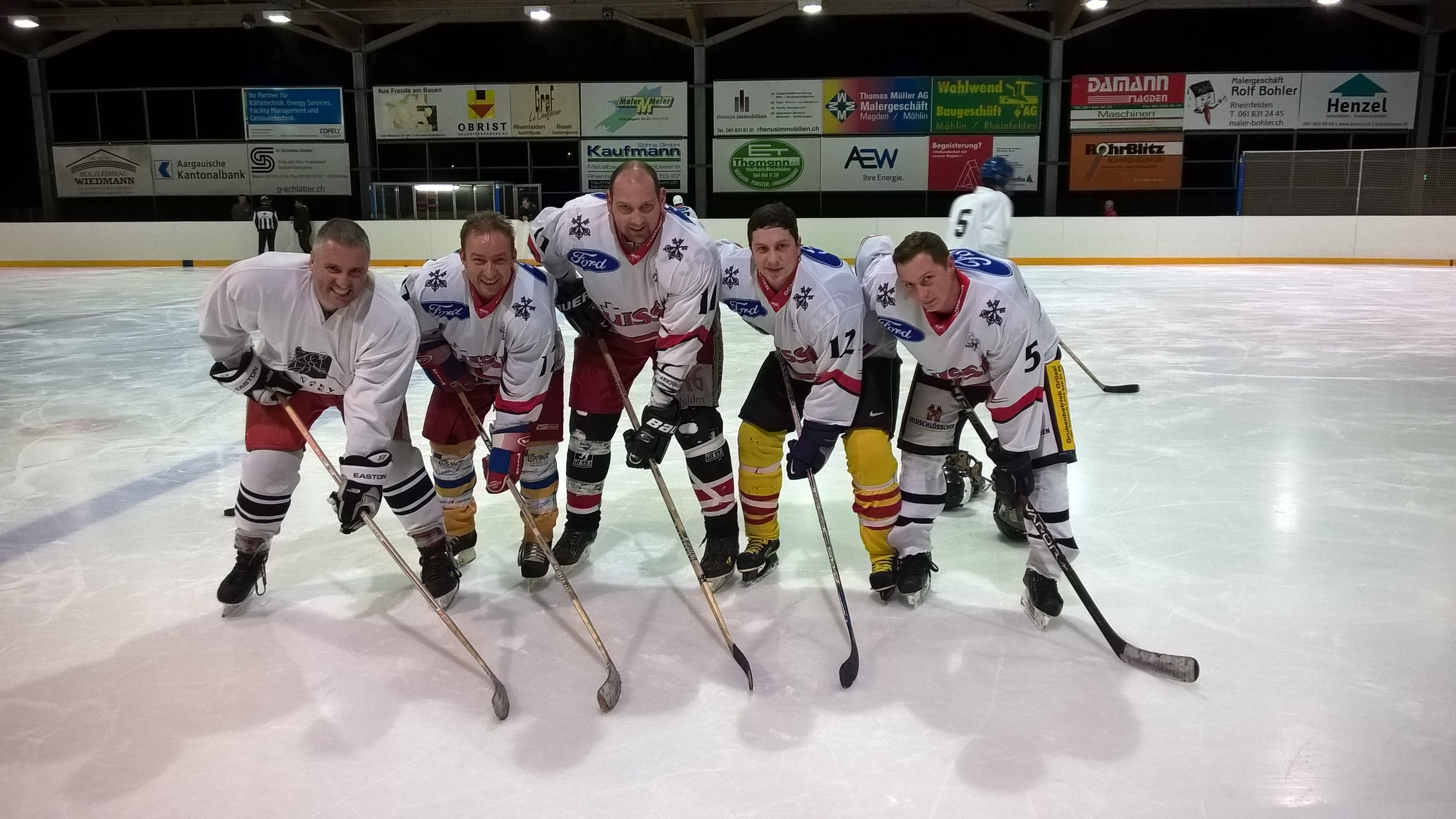 Eishockeymatch – Rheinfelden vs. Badisch Rheinfelden