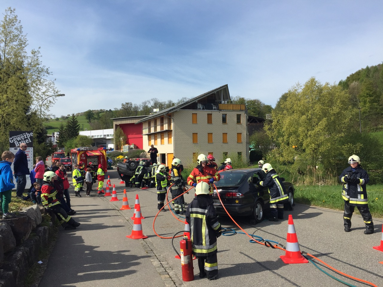 Berufsfeuerwehrtag 2016 der JuFü Regio Rheinfelden