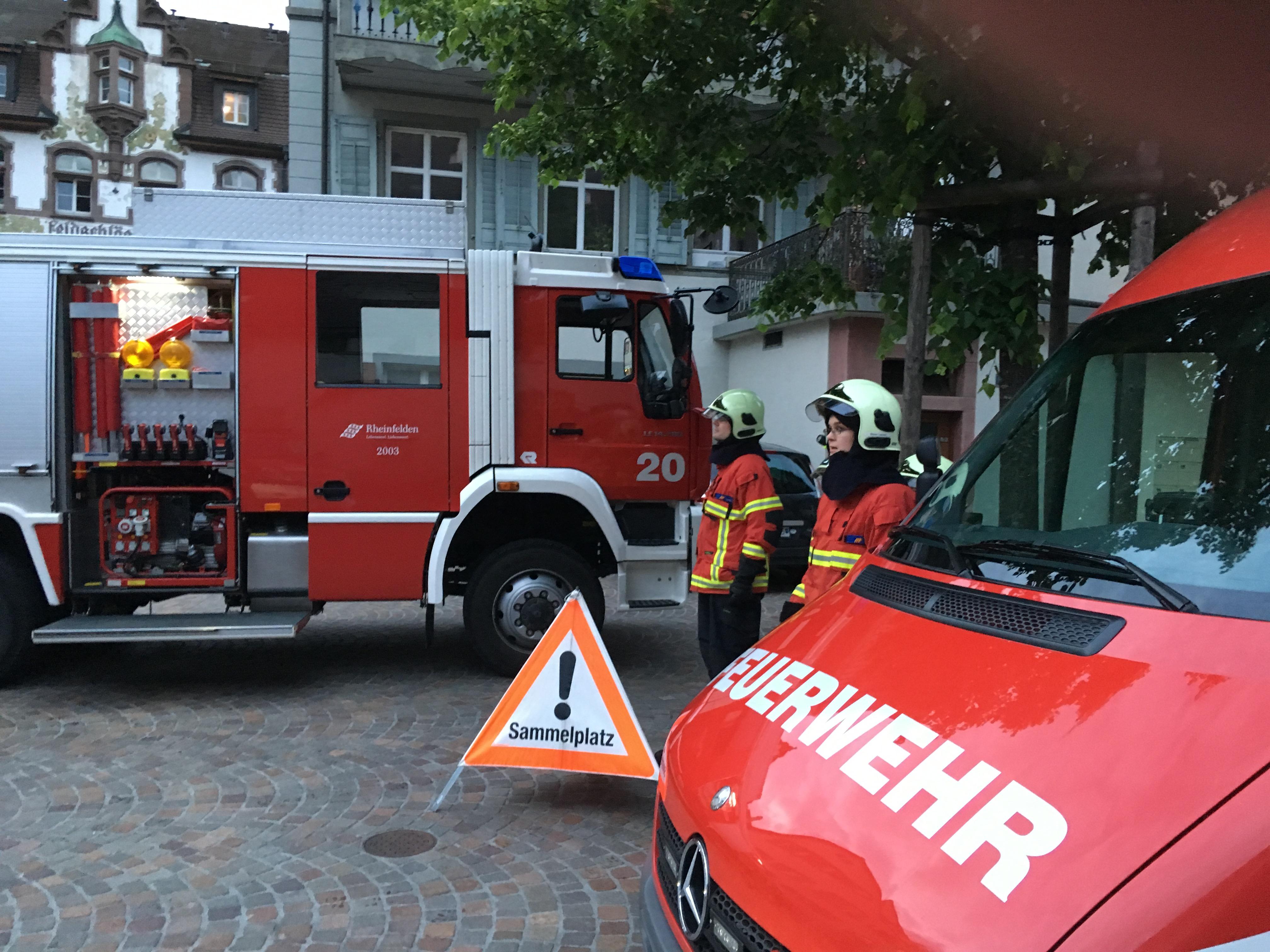 Detailausbildung zum Thema Rettungsdienst und Brandbekämpfung – zweiter Teil