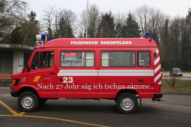 3 Feuerwehr-Fahrzeuge gehen gemeinsam in Pension – Einladung zur Einweihung der Neuen