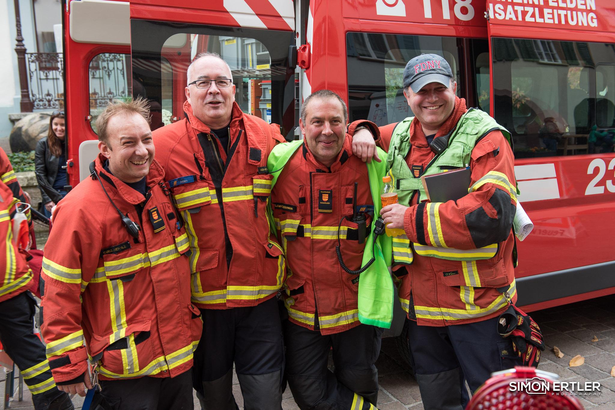 Schlussprobe Feuerwehr Rheinfelden 2017