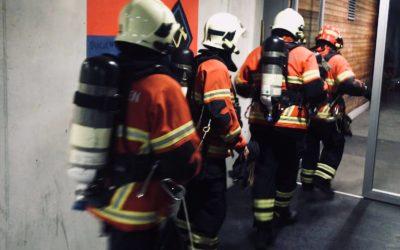Erste Atemschutzübung im 2018