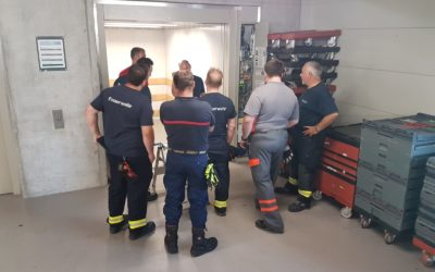 Kurs Einsätze bei Lift- und Schrägaufzügen