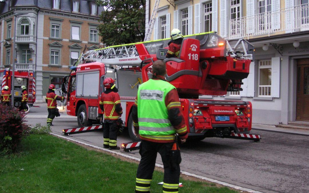 🔥31.08.2018 19:00; Brand-Gross, in Rheinfelden, Bahnhofstrasse 19, Hotel Schützen🔥