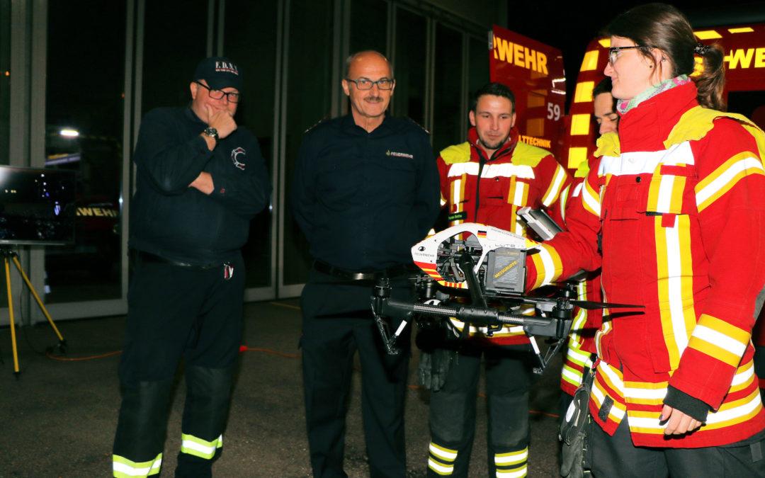 Nachbarschaftstreffen der Feuerwehren in Rheinfelden/CH