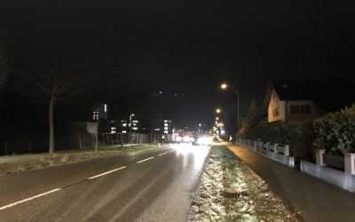 Wechselseitige Verkehrsführung