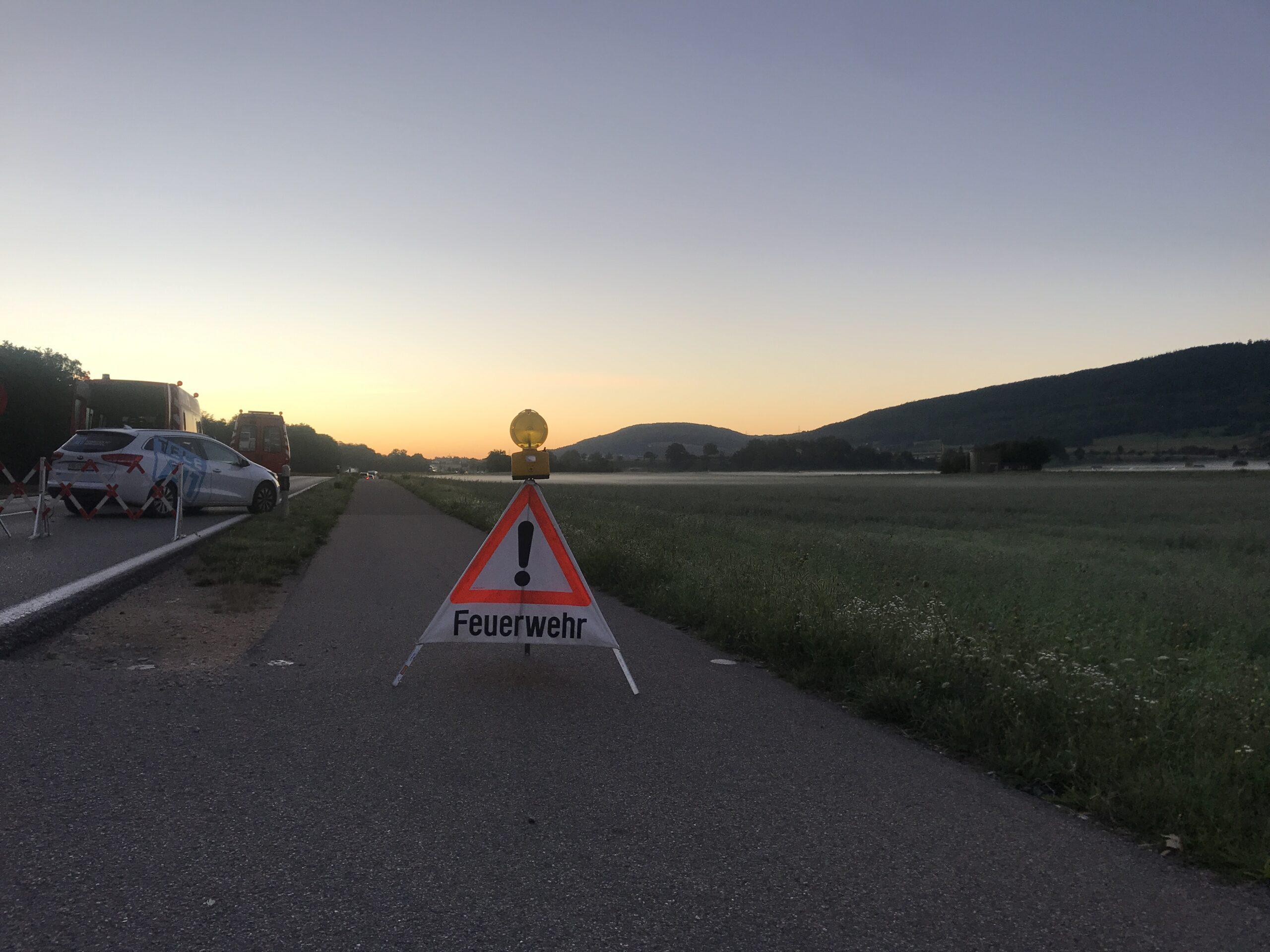 Verkehrsregelung nach Verkehrsunfall