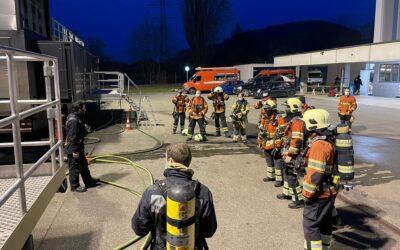 Der Atemschutz in der mobilen Brandsimulationsanlage