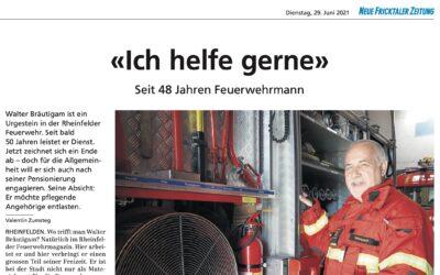 Walter Bräutigam – Seit 48 Jahren Feuerwehrmann